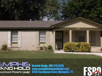 Memphis, TN 38106 Home For Sale By Owner