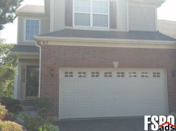 Townhome for Sale in Gilberts, Illinois, 60136