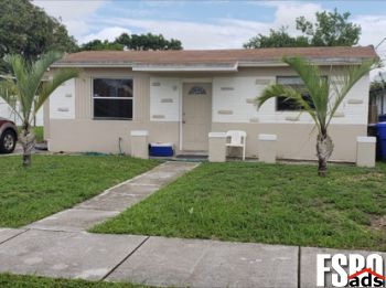 Single Family Home for Sale in West Park,fl, FL 33023