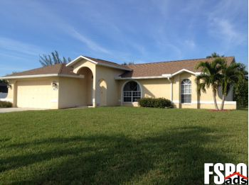 Home for Sale in Cape Coral, Florida, 33914